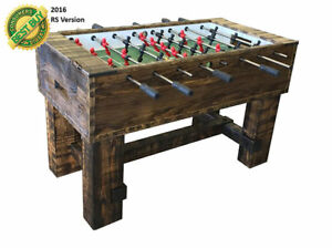 PERFORMANCE GAMES SURE SHOT RP RUSTIC FOOSBALL TABLE BRAND NEW 2 YEAR WARRANTY