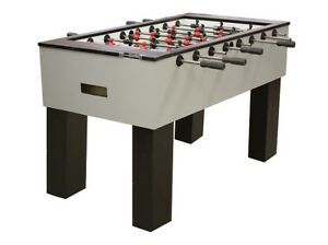 PERFORMANCE GAMES SURE SHOT MODEL IS  MODERN MODEL FOOSBALL  TABLE FREE SHIPPING