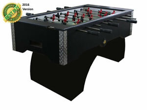 PERFORMANCE GAMES SURE SHOT MODEL RS  MODERN MODEL FOOSBALL  TABLE FREE SHIPPING