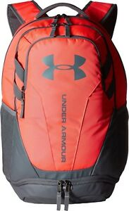 Womens Pink Under Armour UA Hustle 3.0 Backpack OSFA PENTA Waterresist Laptop