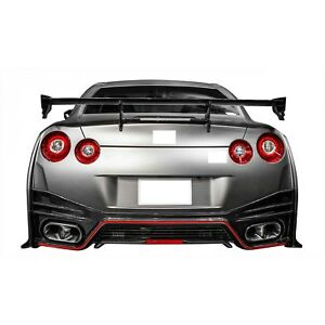 Nismo Design Fit Nissan GTR R35 CBA DBA Carbon Fiber Trunk Wing Spoiler 2009 up