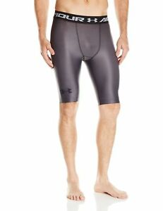 New Under Armour Men's Charged Compression Shorts GraphiteStealth Gray XX-Large