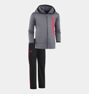 Under Armour Roster Hoodie Track Set – Toddler Boys' Hoodie 3T Graphit