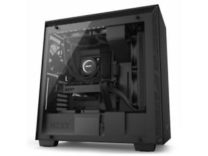 NZXT Case CA-H700W-BB H700i (3) USB 3.1 WINDOW CAM NO Power Supply Mid-Tower