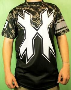 HK Army DryFit Paintball Shirt - MR H Tiger Camo - Large