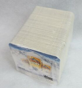 100 Coors Light Paper Coasters Man Cave Bar Supplies Beer Silver Bullet
