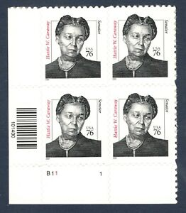 3431 Hattie W. Caraway Plate Block Mintnh (Free Shipping)
