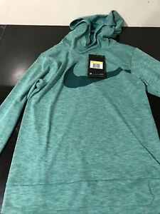 New with tag Nike Therma dry fit sweat shirt hoodie small kids boys green