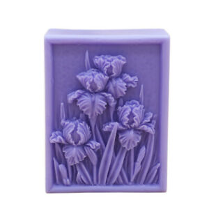 Flower Silicone Soap Molds DIY Craft Rectangle Soap Making Mould Handmade Soap $12.09