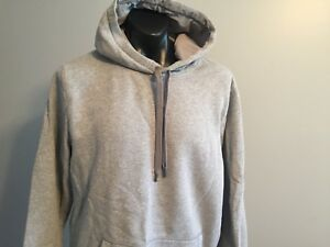 Mens Under Armour Classic Gray Hoodie XXL 2XL Loose