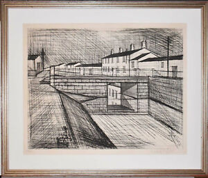 Listed French Artist Bernard Buffet Original Signed Etching amp; Drypoint 1955 $900.00