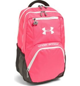 NWT UNDER ARMOUR Women's Exeter PINK Storm Athletic bag Laptop satchel Backpack