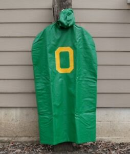 orig. 1950's University of Oregon Ducks FOOTBALL PLAYER SIDELINE JACKETCAPE