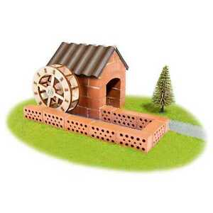 Watermill Teifoc Construction Set Real Brick and Mortar TEI 4030 Building Toy