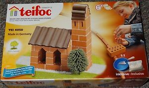 Church Real Brick & Mortar Construction Building Toy Teifoc TEI 4050