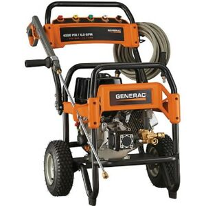 NEW! GENERAC Commercial Gas Pressure Washer - 4200 PSI 4 GPM!!