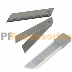10x Snap Off 18mm 4quot; Cutter Retractable Utility Knife Replacement Blades Refill