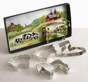 2 DOWN ON THE FARM  ~ Cookie Cutter Gift Sets By Ann Clark USA  SALE!