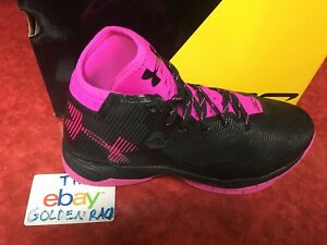 Under Armour GS Curry 2.5 Youth Boys Black Rose 1274062-007 SZ 7Y NIB MSRP; $115