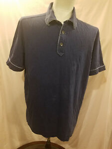 MENS PARTIAL BUTTON DOWN POLO SHIRT TOMMY BAHAMA BASEBALL YANKEES RESERVE SEAT L