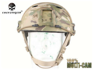 Emerson POM FAST Helmet PJ Type Tactical Military Airsoft Helmet EM5668