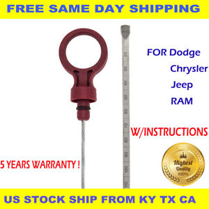 TRANSMISSION Automatic Oil DIPSTICK Auto Trans ATF Fluid Level Dip Fits For Jeep $7.99