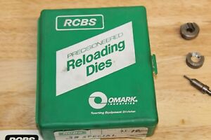 CH 38 SPECIAL 357 3 DIE RELOADING SET RCBS BOX CASE TRIMMER SHELL HOLDER BULLETS