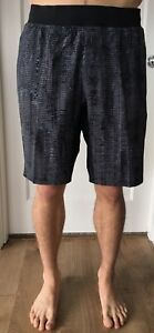 Lululemon Men Size XL THE Short 9 Lux Gray Black MABS Liner Shorts Core NWT Pace