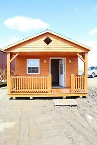 Straw Hat Project Cabins - 13' x 36' Modular Amish Cabin MOVE IN READY!