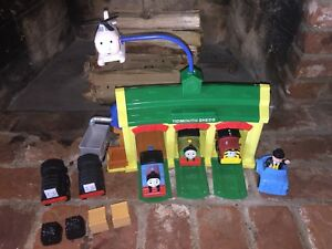 My First Thomas the Train Friends Lot 8 Vehicles Tidmouth Sheds Toddler Kids