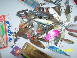 Vintage Salmon lures 80 items Lucky Louie.