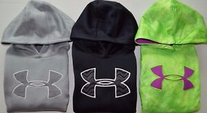 Girl's Youth Under Armour Cold Gear STORM Loose Fit Hoodie Sweatshirt