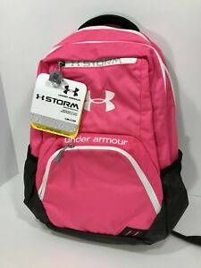 UA Under Armour Women's Exeter Pink Storm Athletic Bag Laptop Satchel Backpack