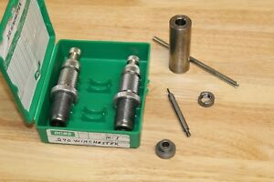 CH270 WIN 2 DIE RELOADING SET RCBS BOX  SHELL HOLDER BULLETS RIFLE CASE TRIMMER