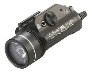 Weapon Mount Tactical Flashlight 800 Lumens with Strobe for Handguns Long Guns