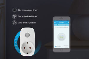 SP3 Mini WiFi Smart Remote Control Timer Switch Power Socket Outlet USEU PlugDU