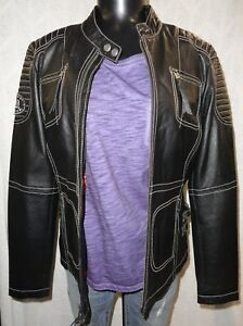 Harley Davidson Women's Agitator Leather Jacket