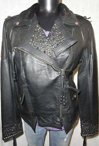 Harley Davidson Women's Winsome Leather Biker Jacket