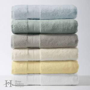 6-Piece Bath Towel Set 100% Turkish Cotton Bathroom Shower Towels