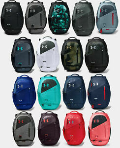 2019-Under Armour Hustle 4.0 Backpack Unisex 1342651 ONE SIZE NEW