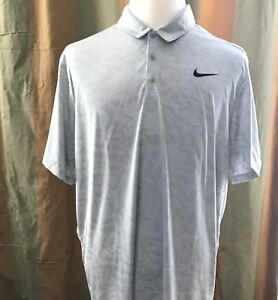 Nike Golf Disney Aulani Resort Men Polo Shirt Sz 2XL Grey Dri Fit Short Sleeve