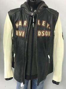Harley Davidson Women's 3 in 1 Leather Jacket