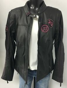 Harley Davidson Women's Pink Label Limited Edition Leather Jacket
