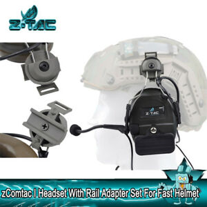 Z-TAC Z Tactical Comtac I Headset With Rail Adapter For FAST helmets Accessories