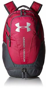 Under Armour UA Hustle 3.0 Backpack Tropic Pink Gym Sports School Bag