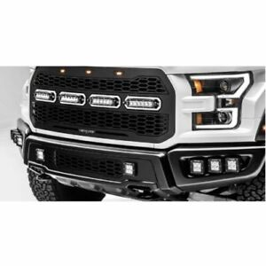 T-Rex 6515661 Revolver Main Grille wSingle Row LED Light Bars for F-150 Raptor