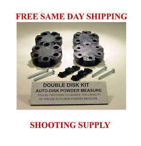 LEE DOUBLE DISK KIT * AUTO DISK POWDER MEASURE FREE SHIPPING * 90195