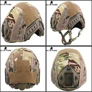 Military Airsoft Tactical Helmet Cover Combat Fast Multicam MC FREE SHIPPING
