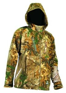 Scent Blocker Alpha Hooded Camo Hunting Jacket RTX amp; MOI M amp; XL MSRP $260