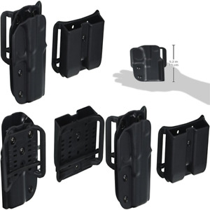 OWB Holster IDPA Competition Shooters Pack Fits S&W M&P 9Mm Pro Series Black